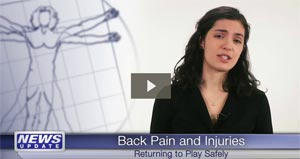 Video: Chiropractic Best Option for Sports-related Back Pain