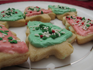 Craving Christmas cookies? Blame the sugar in the cookies not fat.  Photo by Micah Elizabeth Scott.