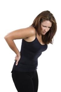 Woman Back Pain