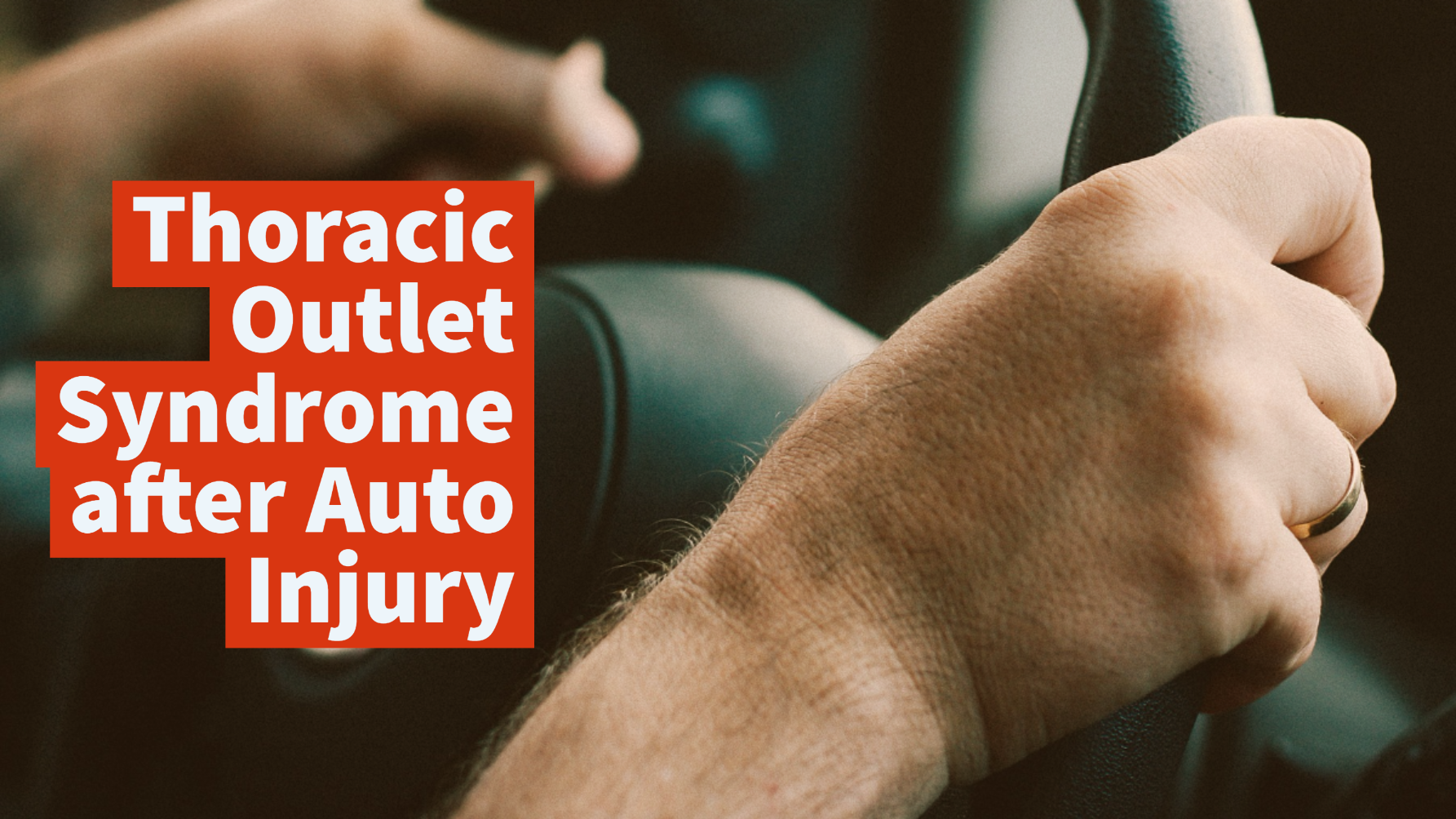 Video Thoracic Outlet Syndrome After Auto Injury