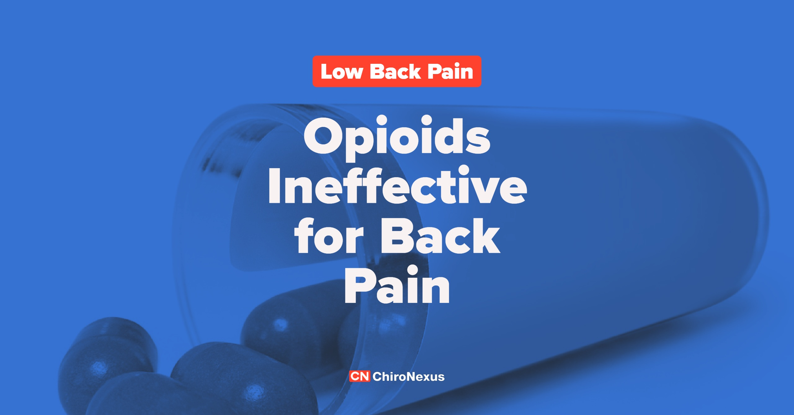 Opiates Ineffective for Chronic Back or Hip Pain