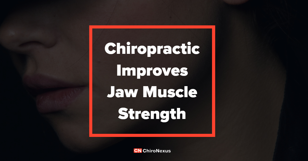 ChiroNexus - Chiropractic Improves Jaw Muscle Strength - Featured Image